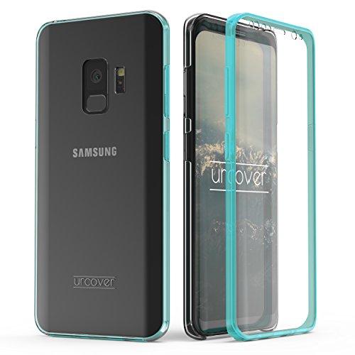 Urcover Kompatibel mit Samsung Galaxy S9 Hülle I Original berühmt durch Galileo I Hard-Edition I QI-Fähig Rundum 360° Schutzhülle Case Mint Grün