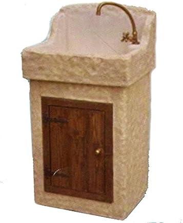 Amazon.it: lavabo pietra - Lavabi / Lavandini bagno: Fai da te