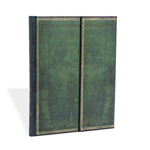 Faux Leder Jadegrün - Notizbuch Groß Liniert - Paperblanks