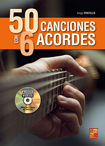baratos y buenos 50 canciones con 6 acordes – 1 libro + 1 disco (audio / video) calidad