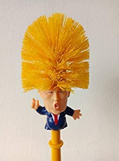 Bioexcel Donald Trump Toilet Brush Bowl With Holder
