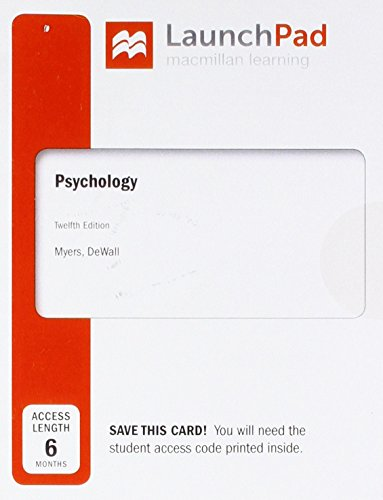 Launchpad for Psychology, Six Month Access