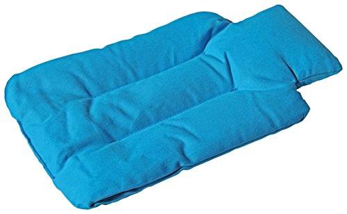 M-Home | Bouillote sèche micro-ondable | Coton | Bleu | 29 x 18 x 1,5 cm | WARMCER | HOTCER