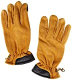 Timberland Nubuck Touch-Screen Hombre Guantes Amarillo