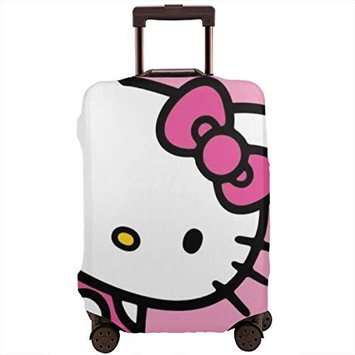 Cubierta de equipaje de viaje Hello Kitty Maleta Protector lavable Fundas de equipaje de 45 a 32 pulgadas
