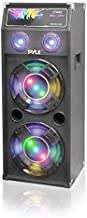 Passive Tower PA Speaker System - High Powered 1400W Disco Jam Outdoor Portable Sound Speakers w/ Dual 12