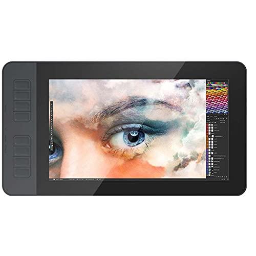 Pantalla gráfica de la pintura del monitor de la tableta del dibujo de IPS HD con 8 teclas de acceso directo y 8192 niveles de la pluma pasiva