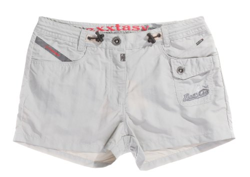 Exxtasy Herren Shorts Women' grau grau 16 cm