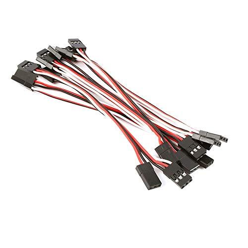 enenjie ENE Extensión de Cable Plomo (Color : 150mm 10pcs)