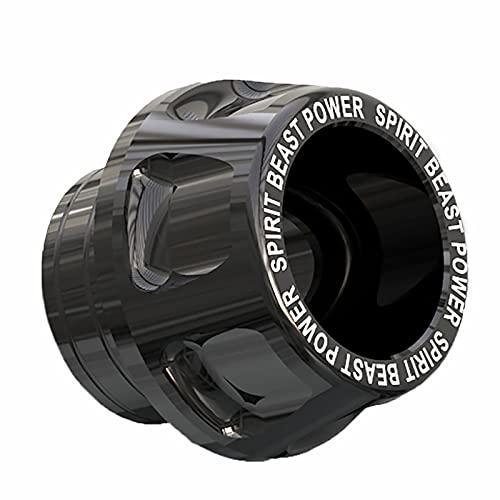 Frame de Horquilla Deslizadores Marcos de Motorbike, 1pc Motorcycle Front Front Treast To Slider Eje de protección PROTECCIÓN, Bloqueo Anti-caída Amortiguador Frontal BlockSuitable -Black||L7