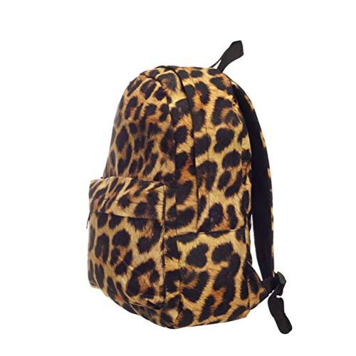2vans mochila leopardo