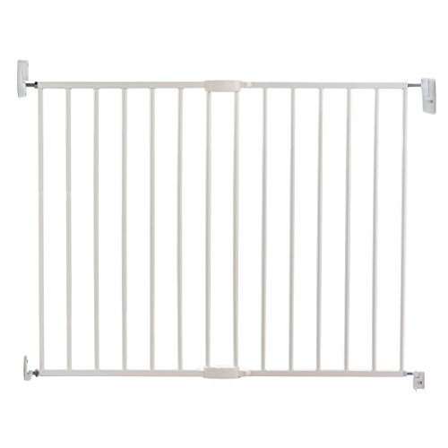 Lindam Wall Fix Extending Metal Safety Gate (Push to Shut/Easy Close)