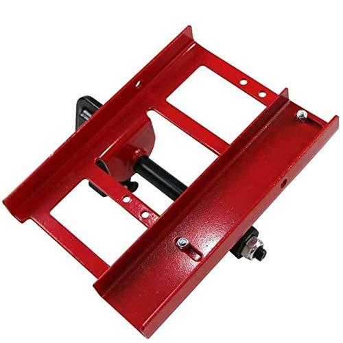 YiGanQiang Motosega Mulino Portatile Motosega Mulino in Alluminio in Acciaio in Alluminio Saldatura Saldatura a segatura a Nastro Tagliente a Nastro 205x205mm (Color : Red)