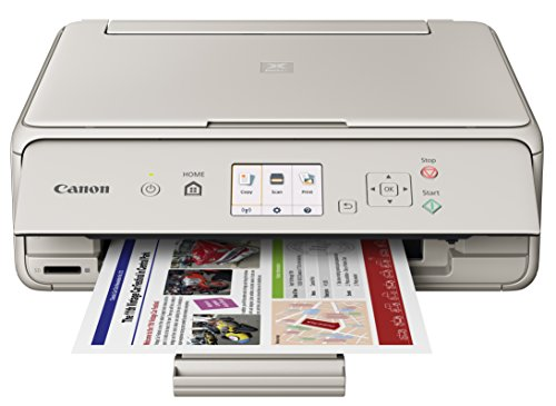 Canon Office Products PIXMA TS5020 GY Wireless color Photo Printer with Scanner & Copier, Gray