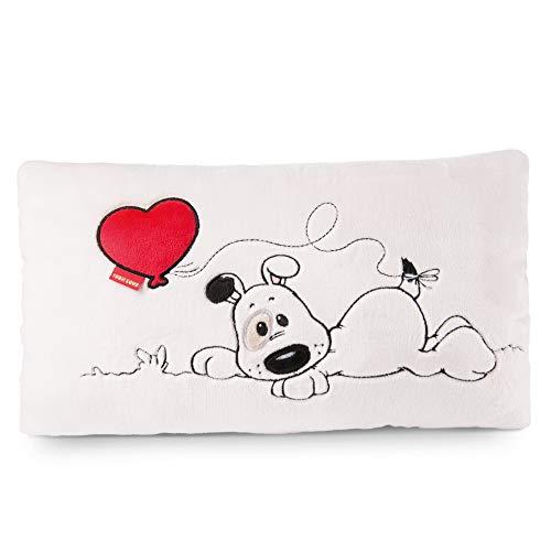 NICI 46080 Kuschelkissen Love Hund rechteckig, 43x25cm, aus Plüsch