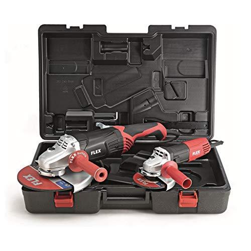 Flex Winkelschleifer Kofferset L2100 230 mm + L810 125 mm Schleifmaschine 453978
