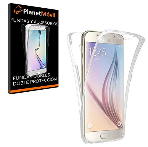 PLANETMOVIL Huawei P9 Lite Funda DE Silicona Delantera + Trasera Doble 100% Transparente