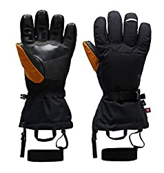 Mountain Hardwear FireFall/2 Men's Gore-TEX Glove for Skiing, Hiking, Camping - Black - Small