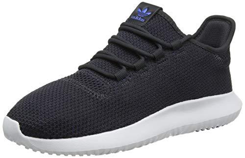 adidas Tubular Shadow, Zapatillas de Gimnasia para Hombre, Negro Carbon/Collegiate Burgundy/True Blue - 43 1/3 EU