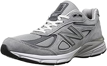 New Balance Men's M990GL4 Running Shoe, Grey/Castle Rock, 12 D US