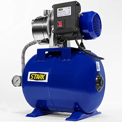 XtremepowerUS 1.0HP Shallow Well Pump Tank Booster System Pressurized Farm Irrigation Garden Water Pump 925GPH