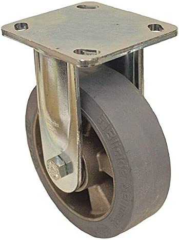 Rigid Milwaukee Mall 550 lb Standard Plate Caster GIS Rubber Dia. quality assurance Wheel 5 in