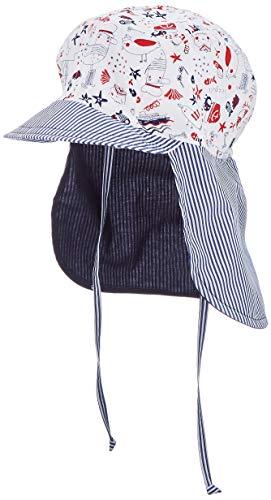 Schirmmütze mit Nackenschutz Maritim