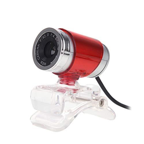 ZXY HD 480P Webcam, Webkamera Plug & Play mit 10M Schallschluckmikrofon, 1,4M Kabel für PC, Laptop, Desktop, kompatibel mit Windows 7/8,C