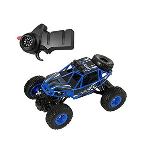 HXGL-Drum Control Remoto Coche, vehículo Todoterreno Amortiguador de Cuatro Ruedas Racing Racing Juguete para niños Aleación Resistente a la aleación Control Remoto Recargable Modelo de Coche