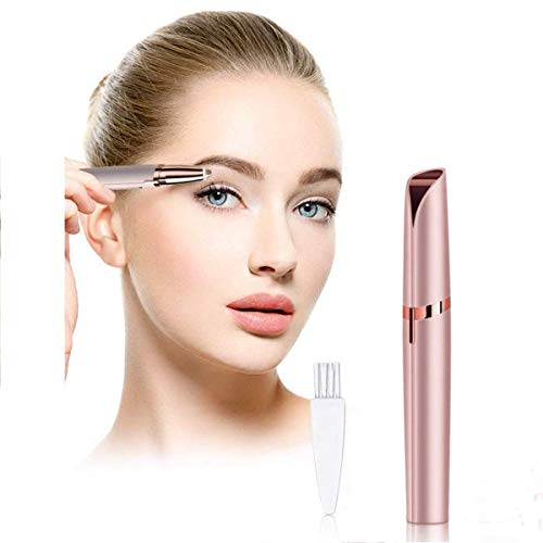 Fulminare Portable Eyebrow,Face,Lips,Nose Hair Removal Eyebrow Remover,Eyebrow Trimmer,face Remover Electric Trimmer with Light for Women (Personal Trimmer)