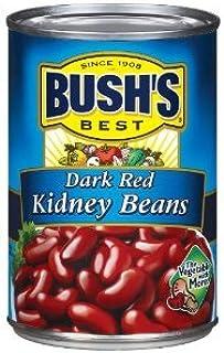 Bush's Best Dark Red Kidney Beans, 16 Oz (Pack of 6)