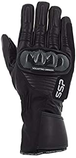 v' Quattro Design SSP04 Gloves Man   I Touch   Black