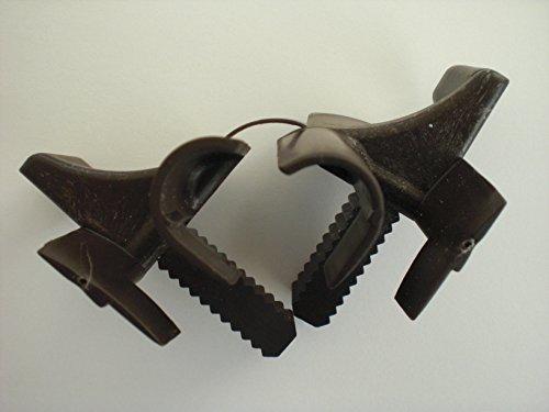 1 Paar Eckerttortechnik Einlauftrichter für Rolladen braun Stecksystem Fertigelement