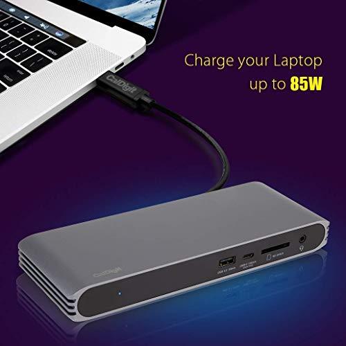 410UCFTfIqL-「Caldigit USB-C/Thunderbolt 3 HDMI Dock」をレビュー。Chromebookでも使える万能ドック