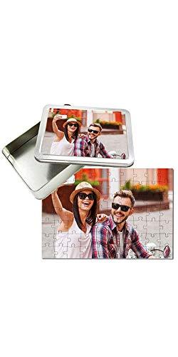 Puzzle Personalizzato con Foto Inclusa Scatola Regalo Personalizzata Puzzle 30x40 cm. 70 Tasselli