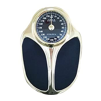 Bathroom scale Analog Mechanical Scales Compact Battery-Free Home Environmental Health Scales Cold Rolled Steel Body Large Dial Fast/Accurate