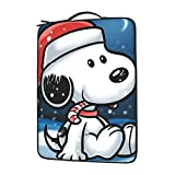 Snoopy - Bolso de mano para ordenador portátil con gran capacidad de 13 14 15,6 pulgadas