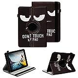 NAUC Tablet Schutzhülle kompatibel für Medion Lifetab P8912 Hülle Tasche Standfunktion 360° Drehbar Cover Universal Hülle, Farben:Motiv 5