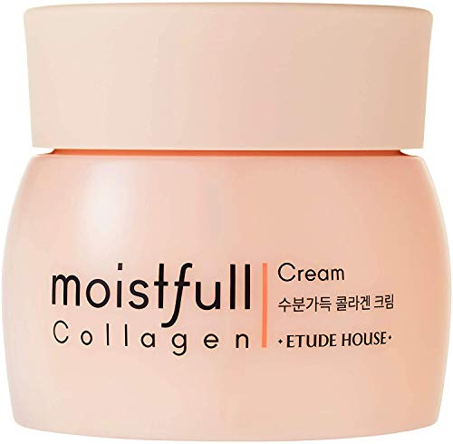 ETUDE HOUSE Moistfull Collagen Cream (New) - Facial Moisturizing Anti-Aging Wrinkle Cream for Women...