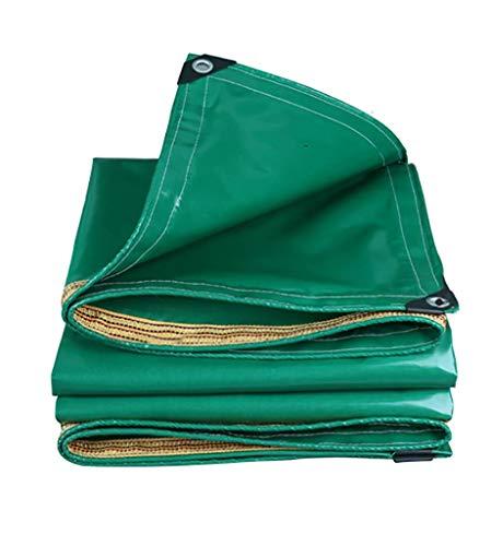 Dekzeil PVC dekzeil blad 350 gsm Tuinmeubelen Cover Storm Resistant Camping Tent Shelter Met scheurbestendige Versterkte randen Waterdicht Heavy Duty 1x2m