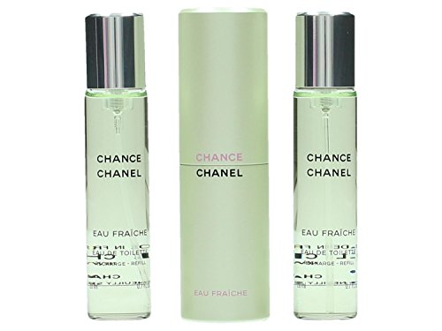 Chanel Chance Fraiche femme/woman, geschenkset (Eau de Toilette, 3x 20 ml), 1 Set