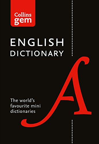 English Gem Dictionary: The world's favourite mini dictionaries (Collins Gem) (English Edition)