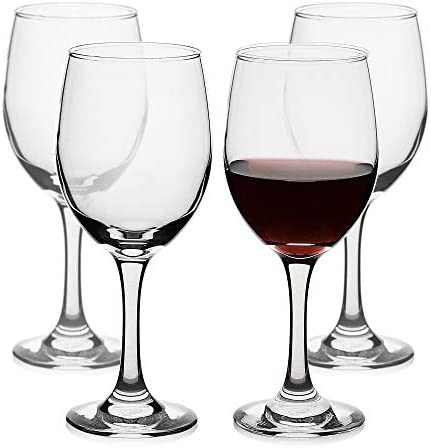 Wine Glasses Classic Elegant curve Glass Set of 4 Red Wine or White Wine Glass for Cabernet product image