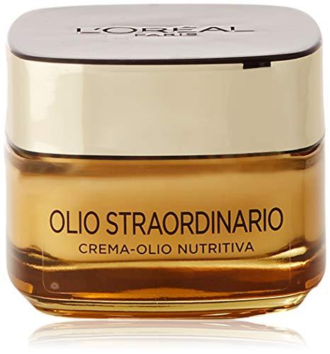 L Oréal Paris Dermo Expertise Soin Olio Straordinario Crema-Olio Viso, Nutre, Illumina e Distende i Tratti, 50 ml
