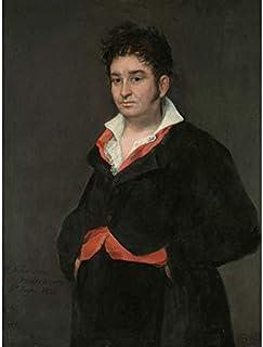 De Goya Portrait Of Don Ramon Satue Painting Unframed Wall Art Print Poster Home Decor Premium