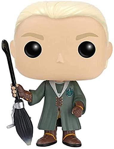 YLHJY Pop Draco Malfoy Brothers Harry James Potter Varita mágica Mini Q Versión 10cm Colección PVC Figura de acción EP PVC