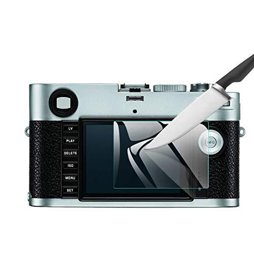 EternalStars 3枚セット 液晶保護フィルム LEICA デジタルカメラ ライカ Leica M-P (Typ 240)専用 硬度9H 高透過率 耐指紋 気泡無し 強化ガラス 厚さ0.3mm (Leica M-P (Typ 240)専用)