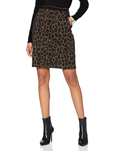 Betty Barclay Collection Damen 9052/1749 Rock, Black/Taupe, 36