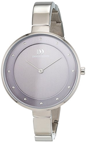 Danish Design dames analoog kwarts horloge met titanium armband 3326611