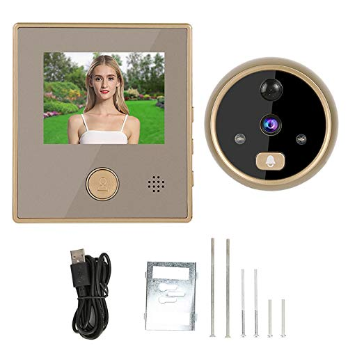 Videoportero, robusto y duradero Tiempo de espera prolongado Bajo consumo de energía Timbre de video de alta restauración para seguridad en el hogar